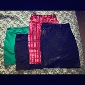 Dresses & Skirts - Bundle of 4 skirts
